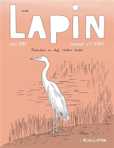 Couverture mon lapin tome 7 - mai 2014