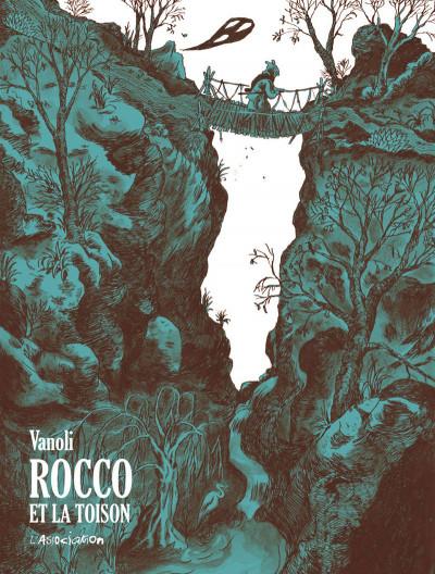 Couverture Rocco et la toison