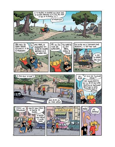 Page 2 Les nouvelles aventures de Lapinot tome 1