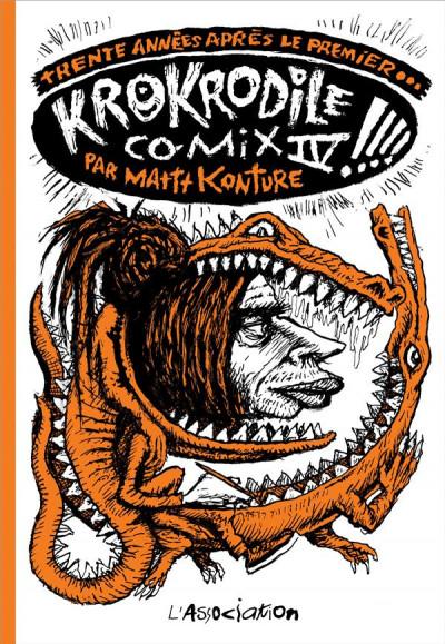 Couverture Krokrodile comix tome 4