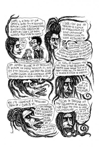 Page 3 Krokrodile comix tome 4