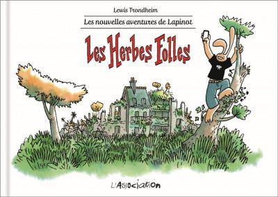 Couverture Les nouvelles aventures de Lapinot tome 2 - Les herbes folles