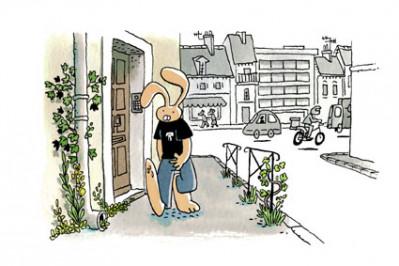 Page 5 Les nouvelles aventures de Lapinot tome 2 - Les herbes folles