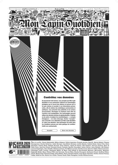 Couverture Revue Mon Lapin Quotidien tome 15
