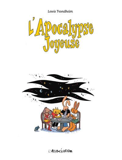 Page 1 Les nouvelles aventures de Lapinot tome 5 - L'apocalypse joyeuse