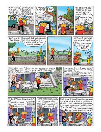 Page 0 Les nouvelles aventures de Lapinot tome 5 - L'apocalypse joyeuse