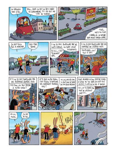 Page 5 Les nouvelles aventures de Lapinot tome 5 - L'apocalypse joyeuse