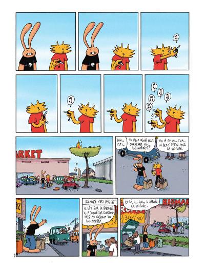 Page 6 Les nouvelles aventures de Lapinot tome 5 - L'apocalypse joyeuse