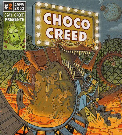 Couverture choco creed tome 2 - horreur