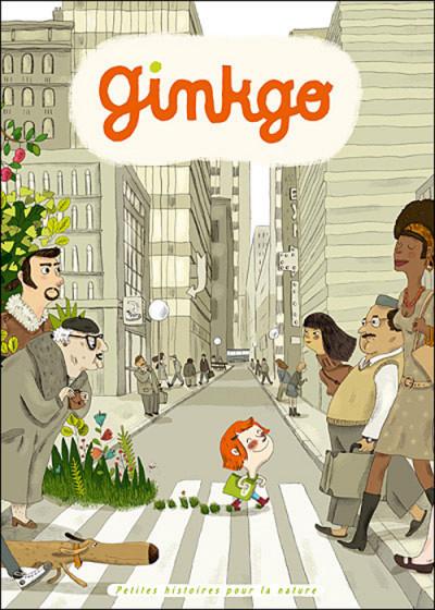 Couverture ginkgo, petites histoires pour la nature