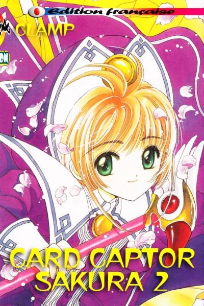 Couverture Card captor Sakura tome 2