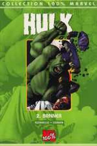 Couverture Hulk (100% marvel) tome 2 - banner