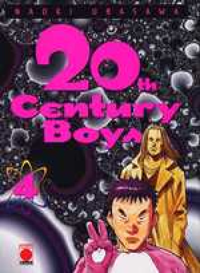Couverture 20th century boys tome 4