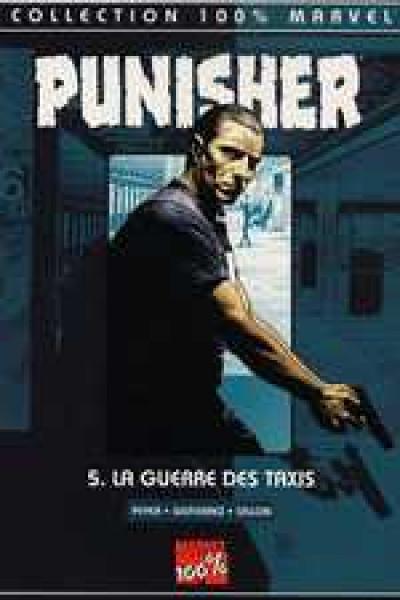 Couverture the punisher tome 5 - la guerre des taxis