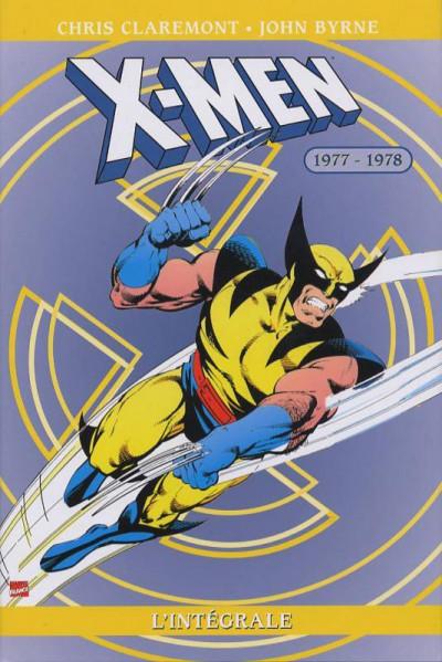 Couverture x-men - intégrale tome 2 - 1977-1978