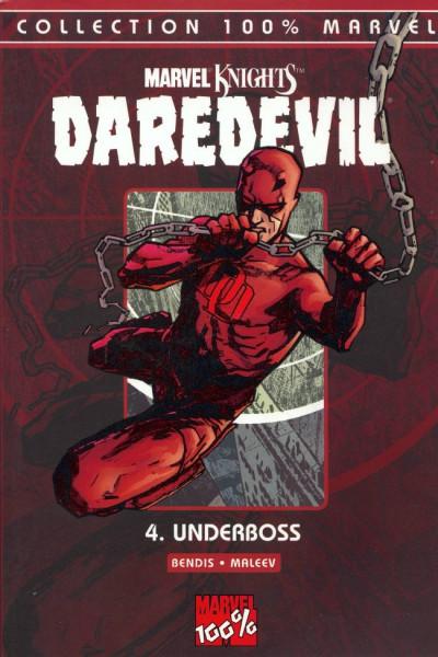 Couverture daredevil - 100% marvel tome 4 - underboss