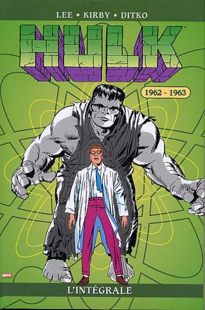 Couverture hulk - intégrale tome 1 - 1962-1963