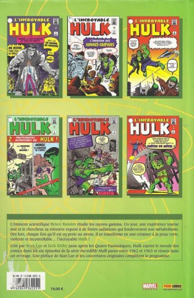 Dos hulk - intégrale tome 1 - 1962-1963