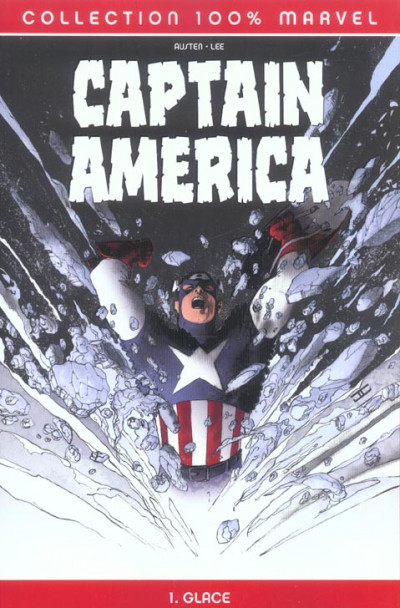 Couverture Captain america (100% Marvel) tome 1 - Glace
