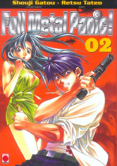 Couverture Full metal panic tome 2