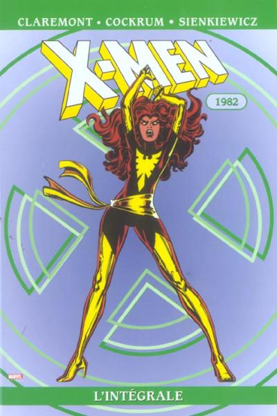 Couverture x-men - intégrale tome 6 - 1982