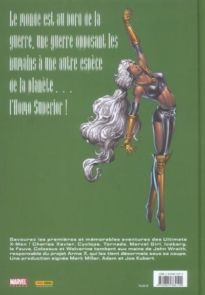 Dos Ultimate x-men (prestige) tome 6 - au coeur des ténèbres