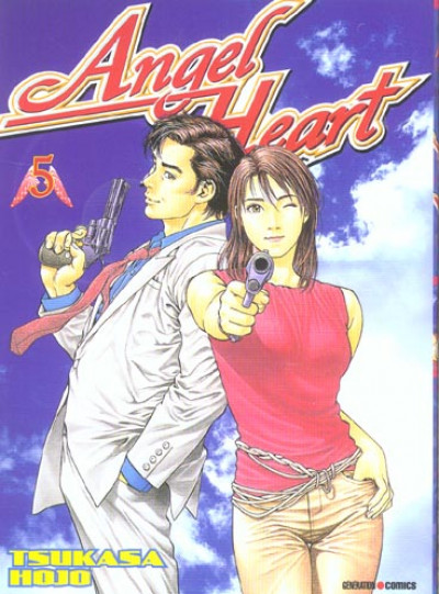 Couverture angel heart tome 5