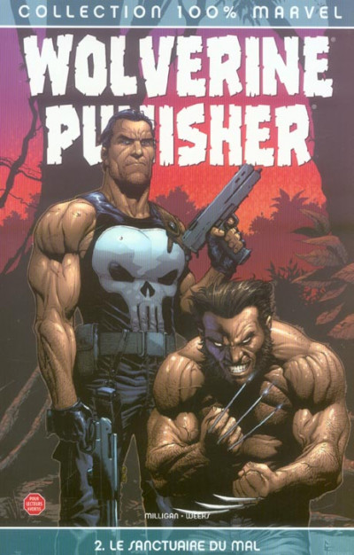 Couverture Wolverine/punisher tome 2