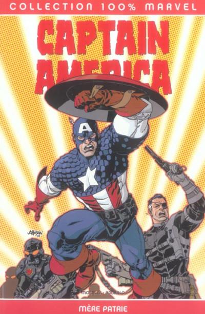Couverture Captain America tome 2 - Mère patrie
