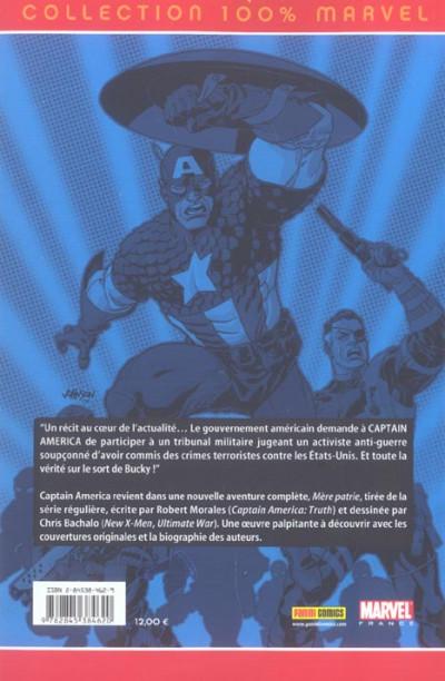 Dos Captain America tome 2 - Mère patrie