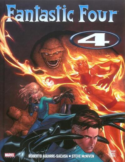 Couverture fantastic four tome 4