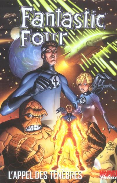 Couverture fantastic four tome 1 - l'appel des ténèbres