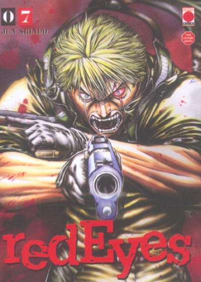 Couverture red eyes tome 7