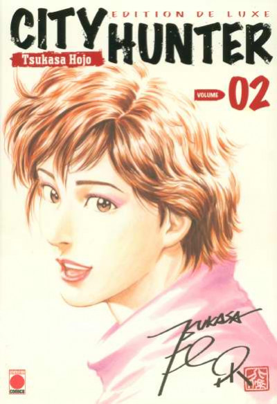 Couverture city hunter tome 2