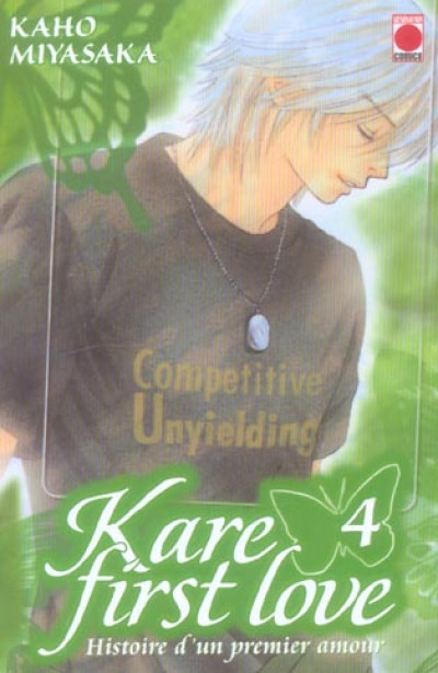 Couverture kare first love tome 4