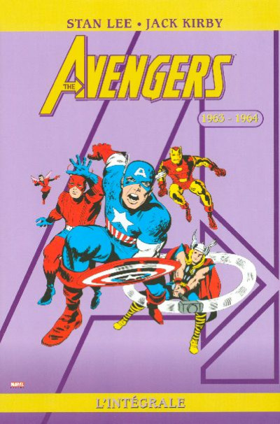 Couverture Avengers - intégrale tome 1