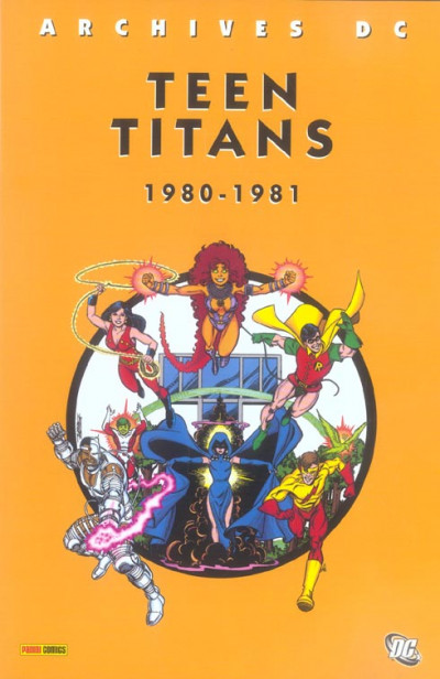 Couverture teen titans tome 1 - (1980-1981)