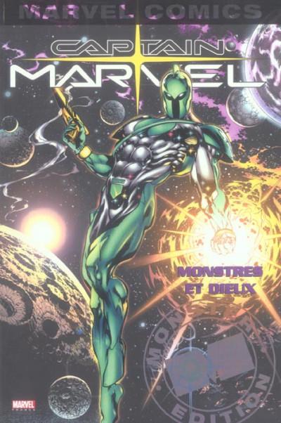 Couverture captain marvel tome 1 - monstres et dieux