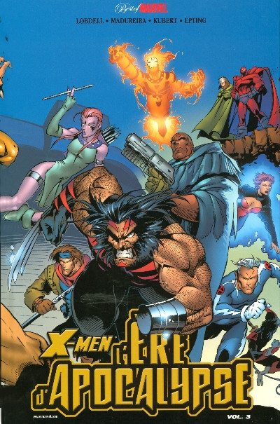 Couverture x-men - l'ère d'apocalypse tome 3