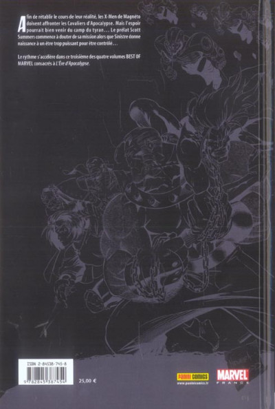 Dos x-men - l'ère d'apocalypse tome 3