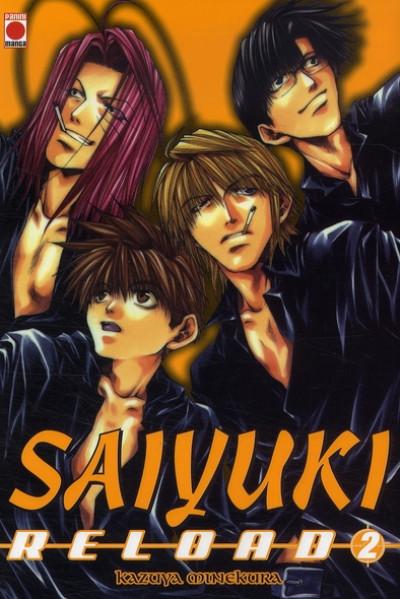 Couverture saiyuki reload tome 2