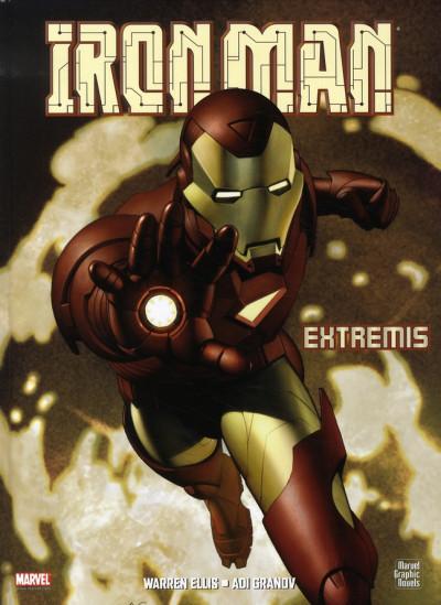 Couverture iron man ; extremis