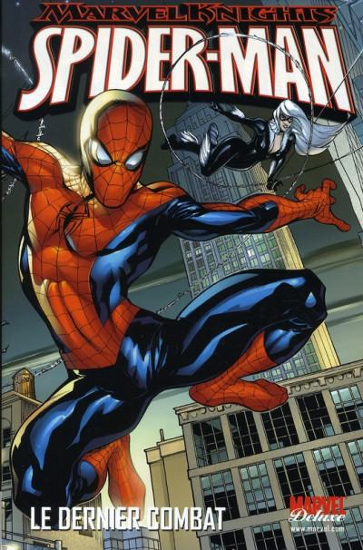 Couverture marvel knights - spider-man - le dernier combat (Marvel Deluxe)