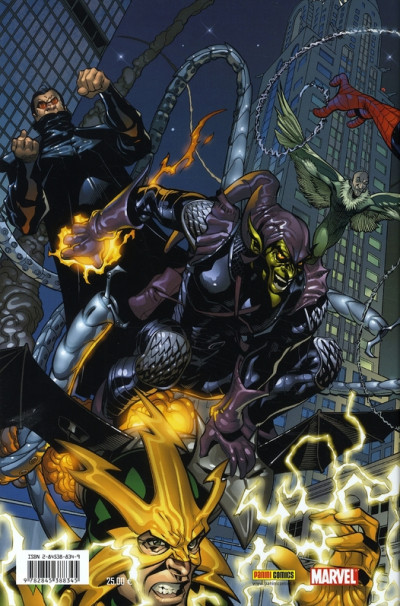 Dos marvel knights - spider-man - le dernier combat (Marvel Deluxe)