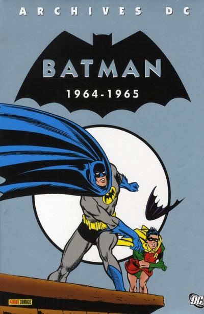 Couverture batman archives tome 3 - 1964-1965
