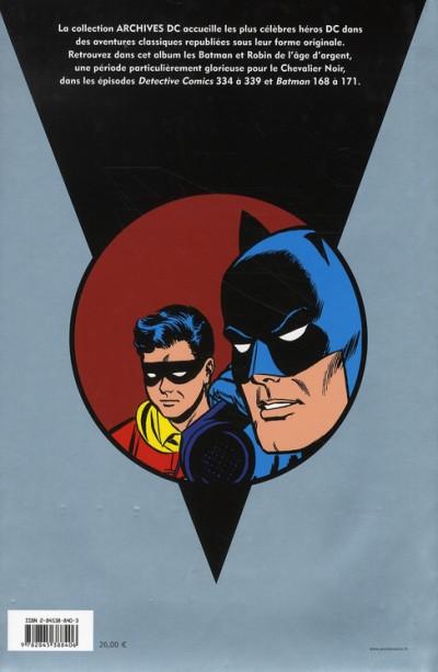 Dos batman archives tome 3 - 1964-1965