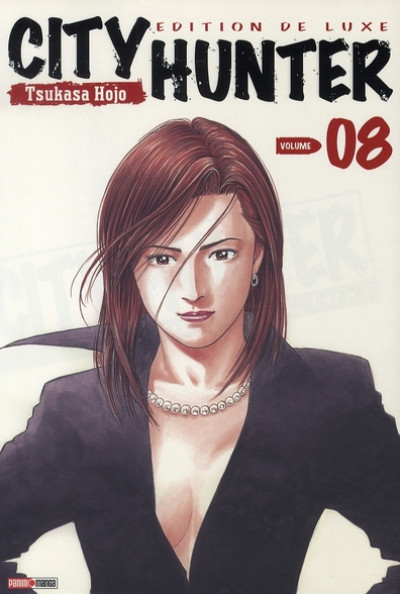 Couverture city hunter tome 8