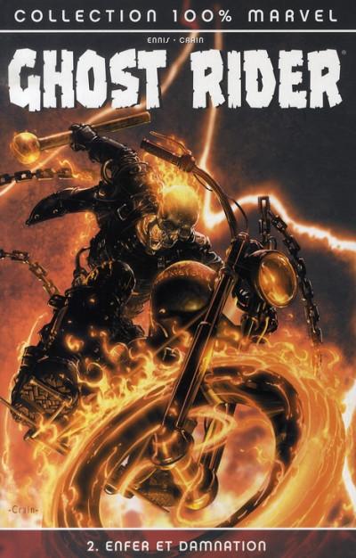 Couverture ghost rider tome 2 - enfer et damnation