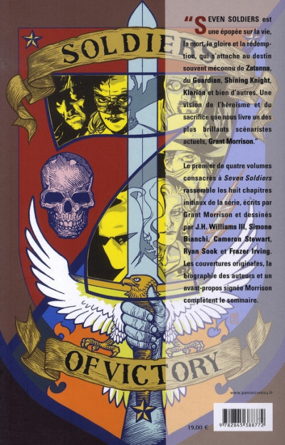Dos seven soldiers of victory tome 1 - étranges aventures