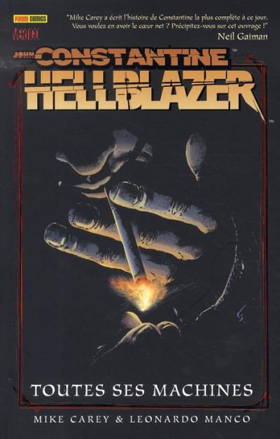 Couverture hellblazer tome 1 - toutes ses machines